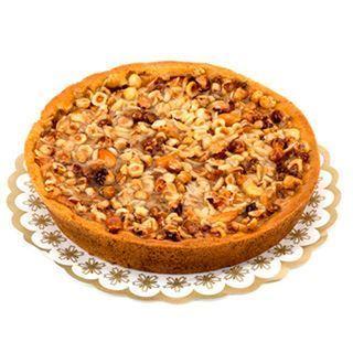 Afbeelding van appelkoek met noten
