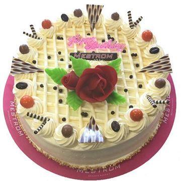 Afbeeldingen van Creme taart