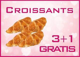 Afbeelding van Croissants 3+1 gratis