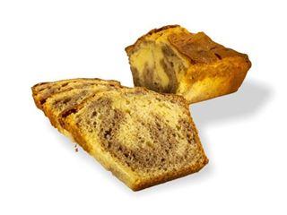 Afbeelding van marmer cake